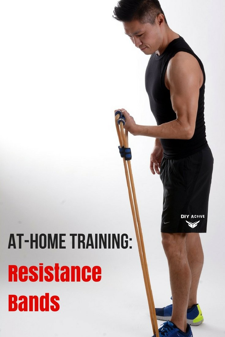 At-Home Training: Exercises with Resistance Bands