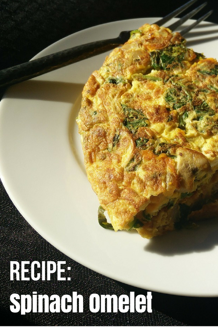 Breakfast Made Simple: Spinach Omelet