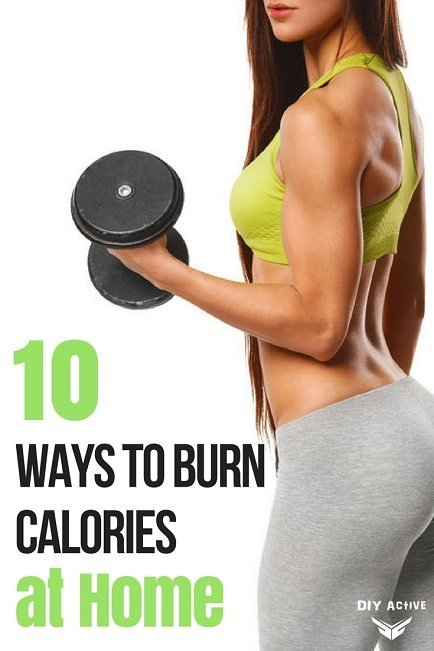 Ways to Burn Calories at home