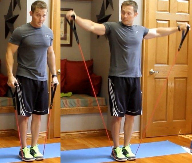 Shoulder and trap exercises Shoulder and Trap Workout