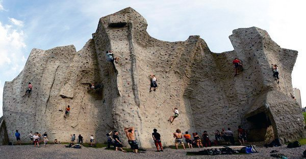 Top 10 Coolest Climbing Walls In the World