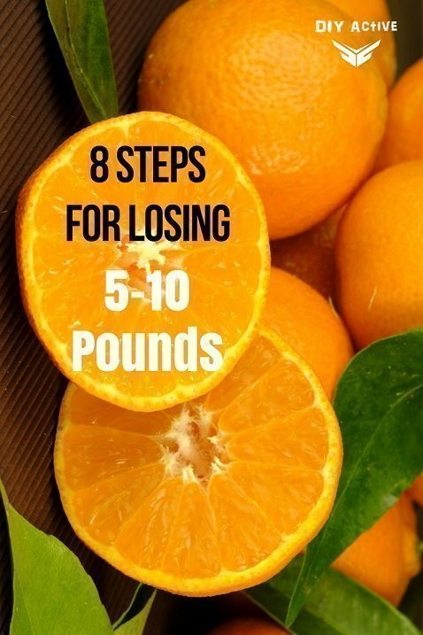 8 Steps For Losing 5-10 Pounds In a Month