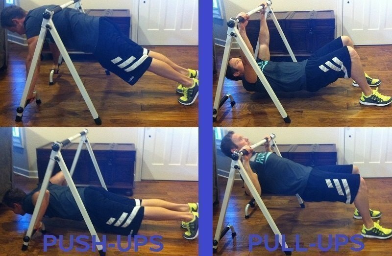 Pushup and pullup alternative
