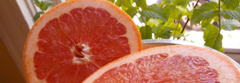 Grapefruit can inhibit the breakdown of estrogen in the liver!