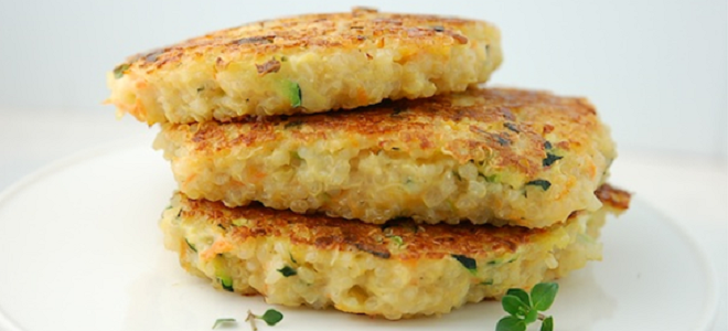 Recipe: Parmesan Quinoa Patties