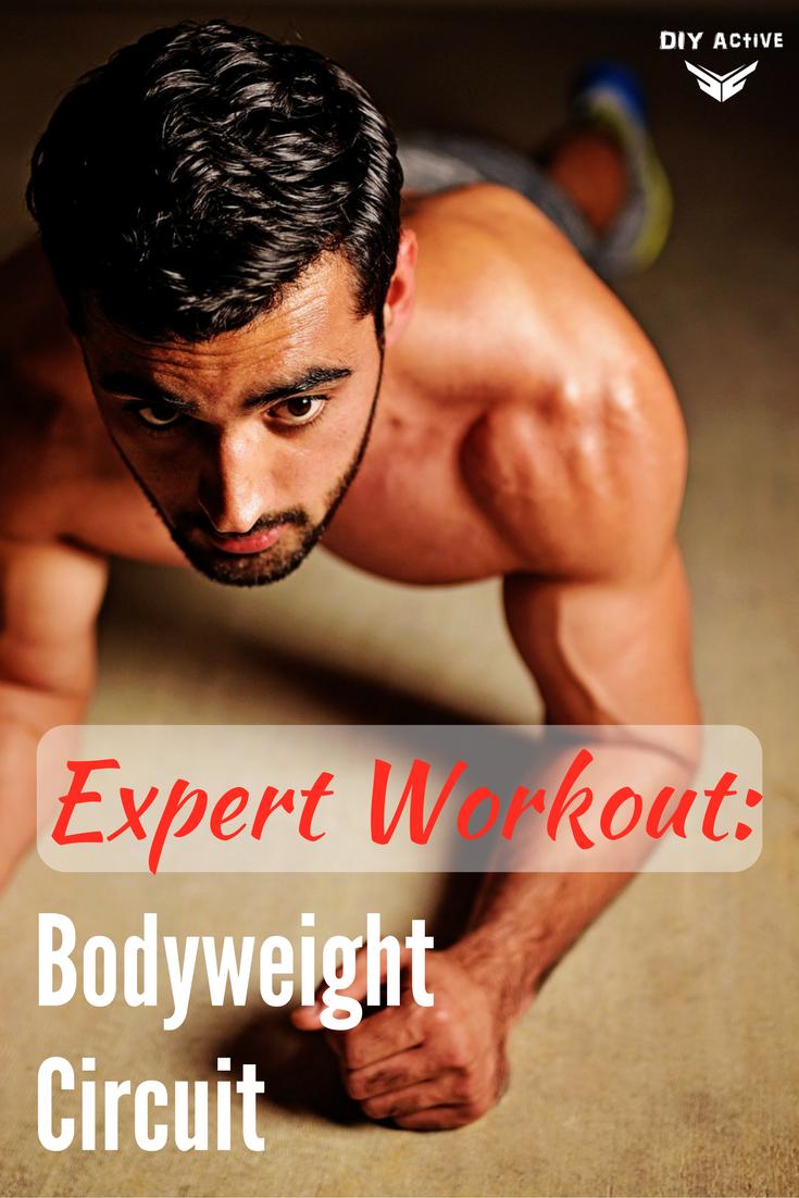 Expert Workout: Bodyweight Circuit