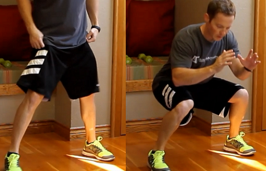 Bodyweight Circuit Squats