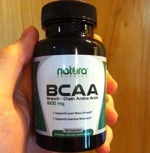 BCAAs Bottle