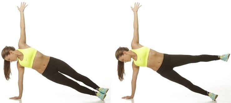 Side Plank Leg Lift