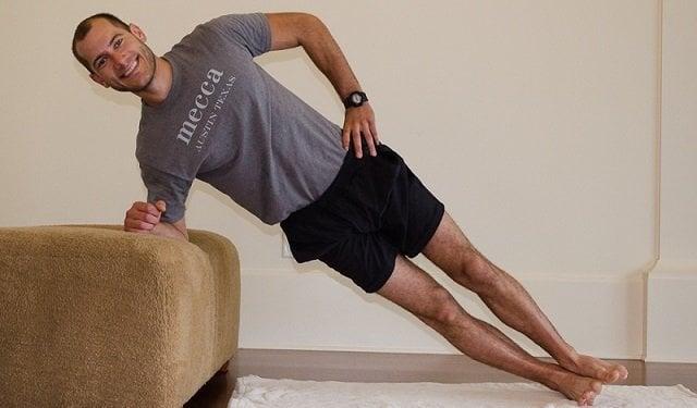 Sofa Side Plank