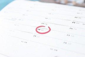 Fitness plan - Calendar