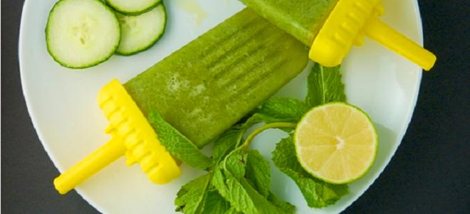 Recipe: Cucumber Mint Popsicles