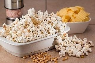 Healthy weight loss hacks popcorn
