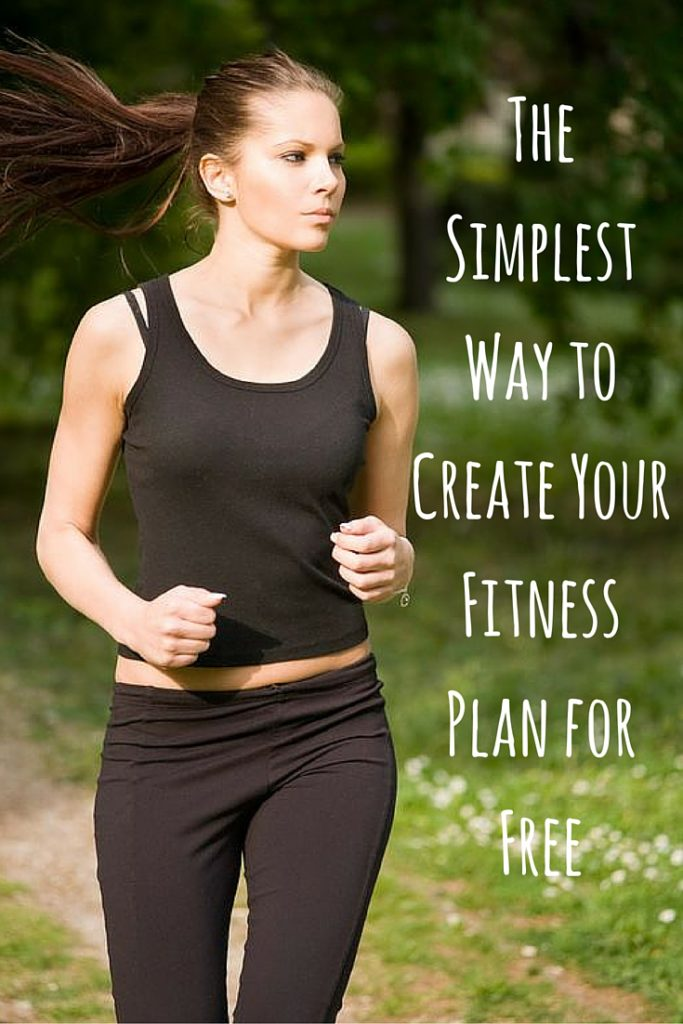 The Simplest Way to Create Your Fitness Plan for Free
