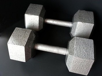 DIY Gym Dumbbells