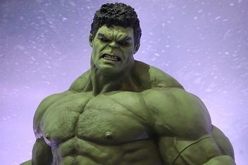 Superhero workout hulk