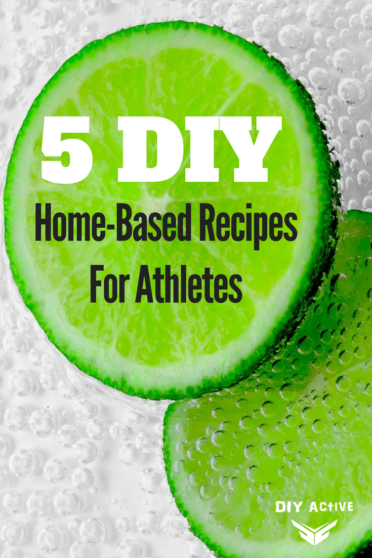 5 DIY Home-Based Recipes For Athletes