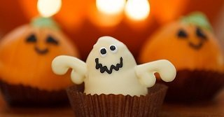 Halloween Candy Ghost