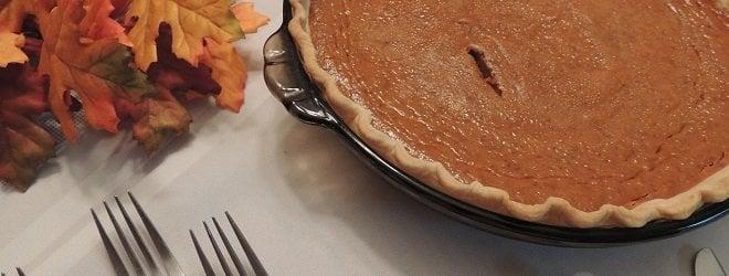 Healthy Thanksgiving recipes Pumpkin Pie