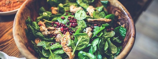 Healthy Thanksgiving recipes spinach