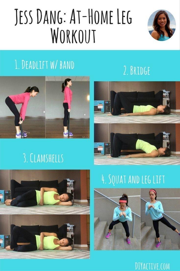 Jess Dang: At-Home Leg Workout