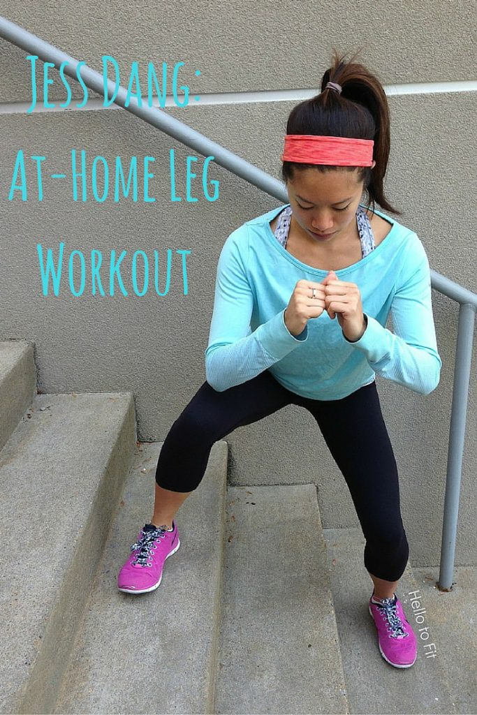 Jess Dang- At-Home Leg Workout
