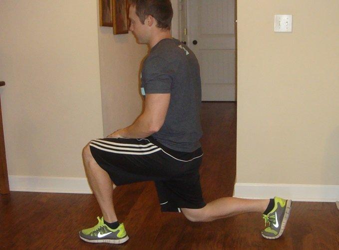 Build muscle at home - Split Squat