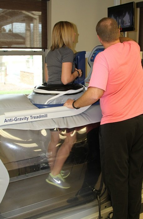 AlterG Treadmill Hannah