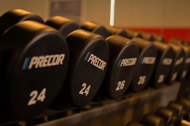 At Home Gym Dumbbells