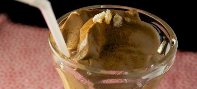 Pumpkin pie protein smoothie featured