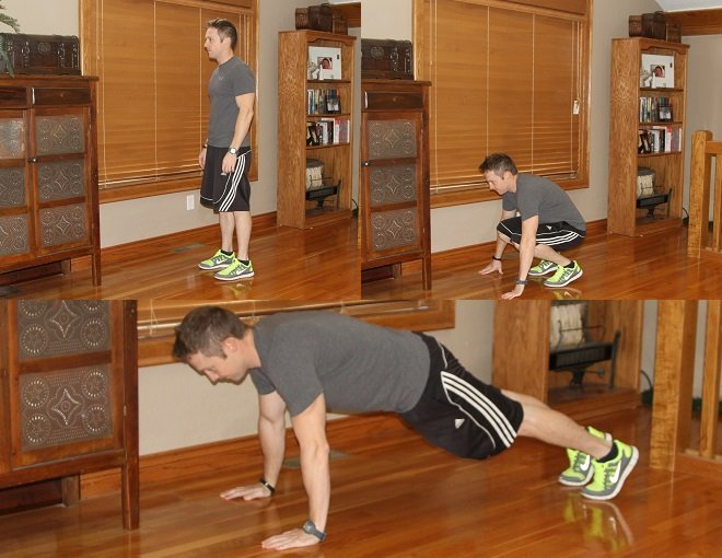 Workout Challenge Burpees