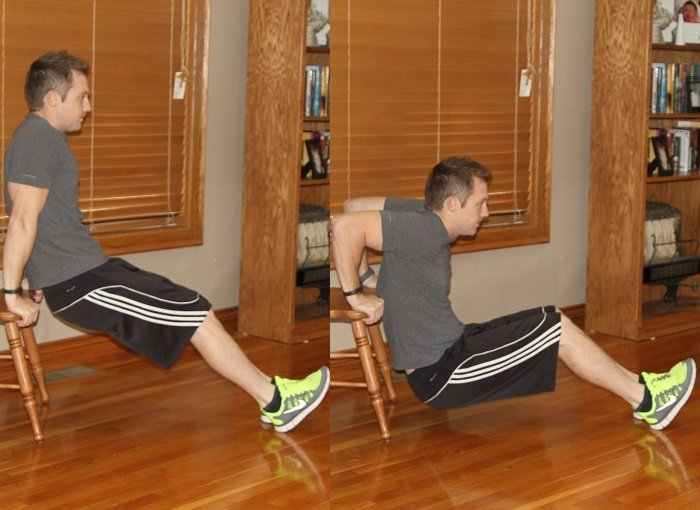 Workout Challenge Dips