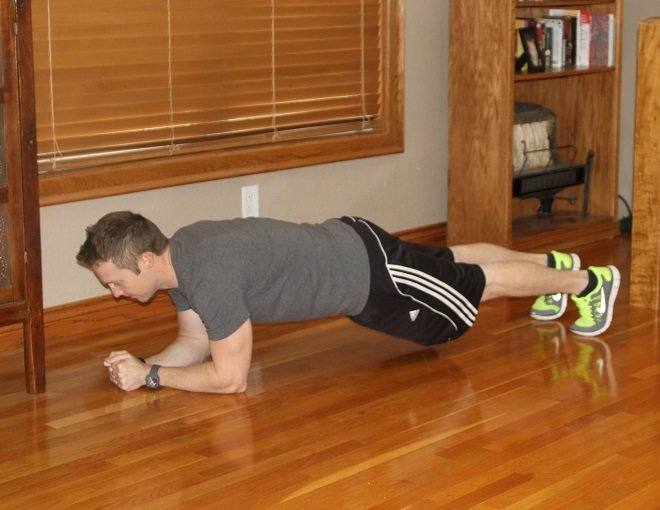 Workout Challenge Plank