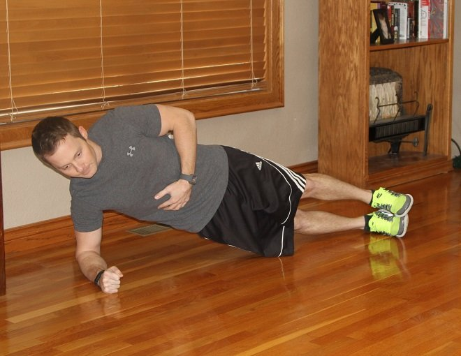 Workout Challenge Side Plank
