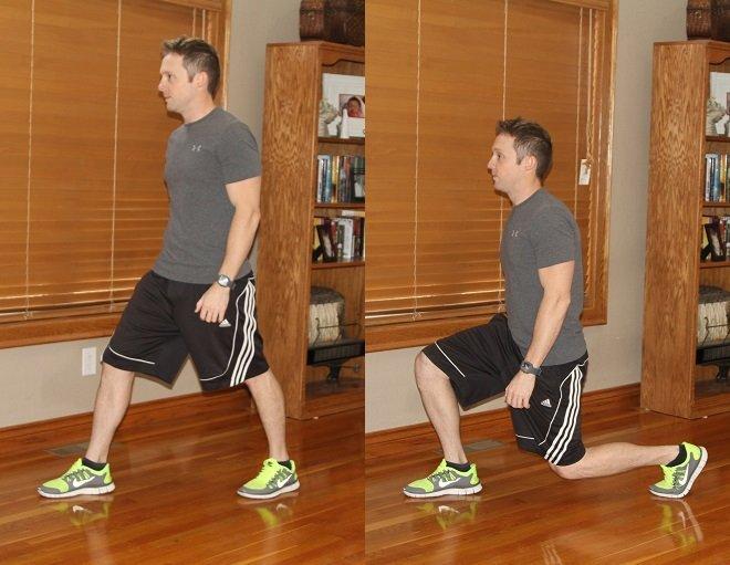 Workout Challenge Split Squat