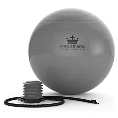 Garage Gym Ideas Fitness Ball Review 2