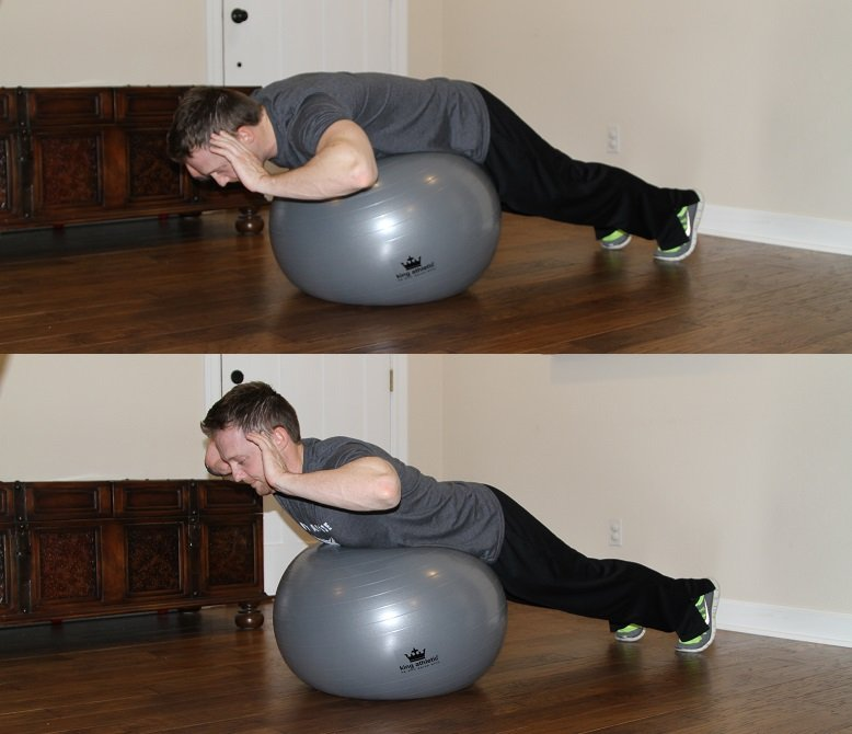 Garage gym ideas fitness ball workout diy active