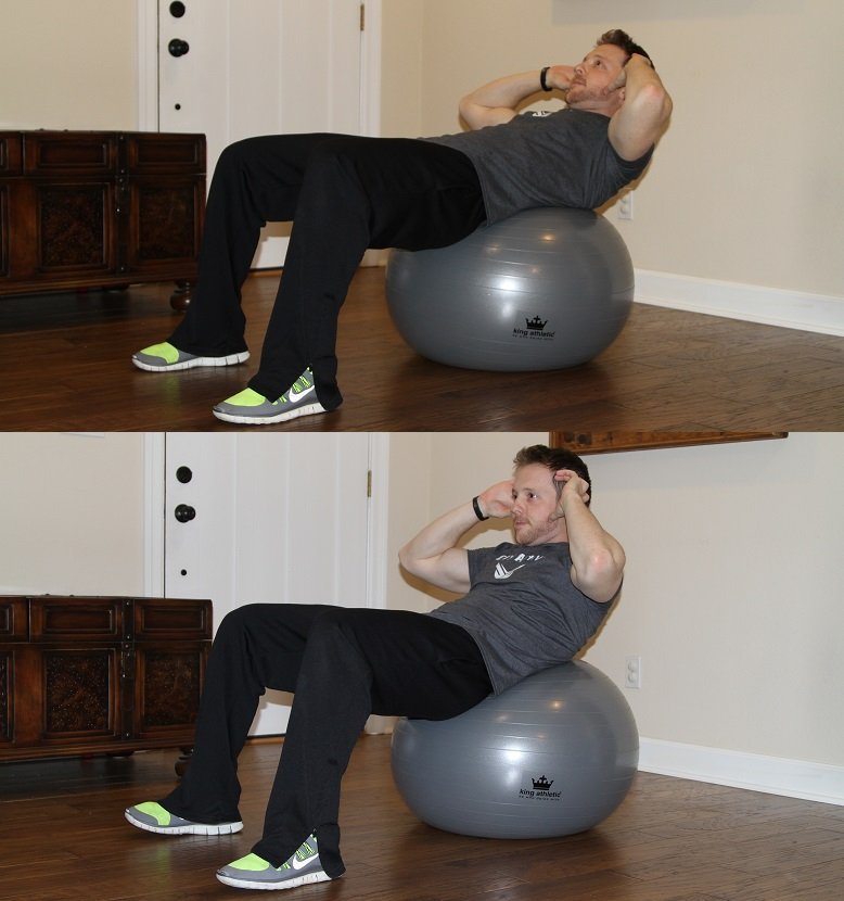 King Athletic Fitness Ball Review Crunch