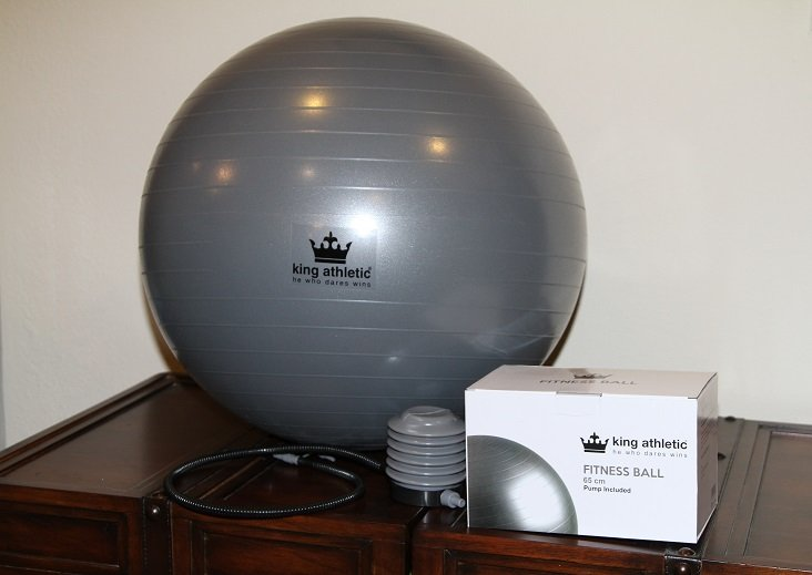 King Athletic Fitness Ball Review