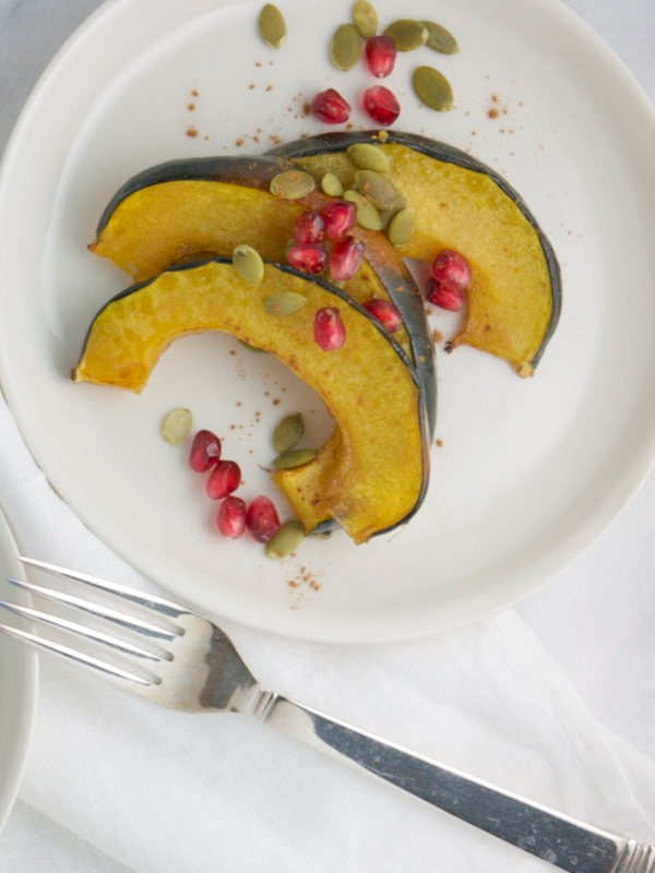 Roasted Acorn Squash Pinterest