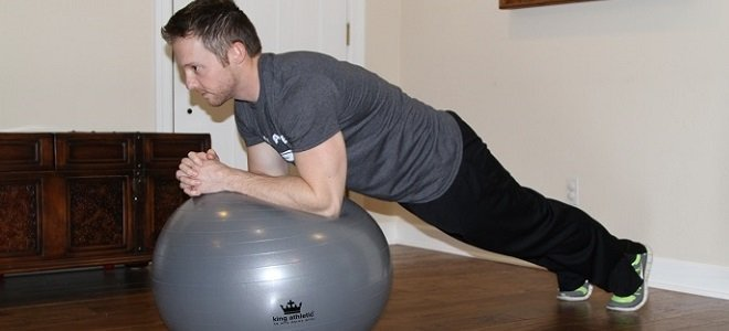 Quick Home Workout King Athletic Fitness Ball Review Plank Featured