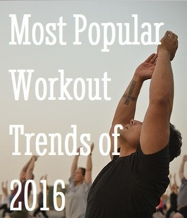 Most Popular Workout Trends of 2016