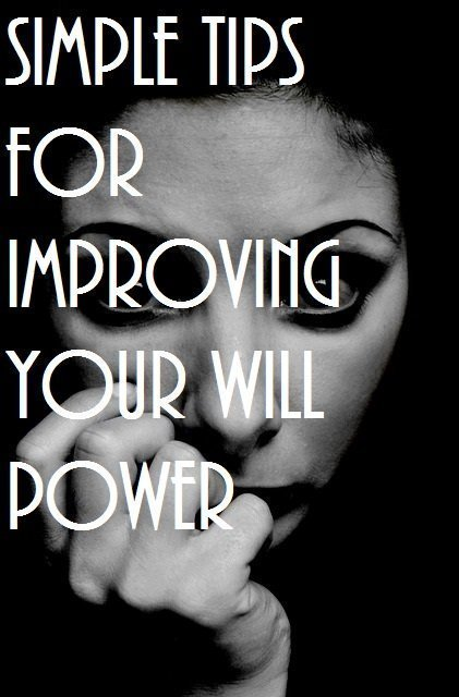 improving your will power anxiety