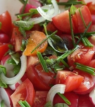 5 Splendid Summer Salad Recipes tomato