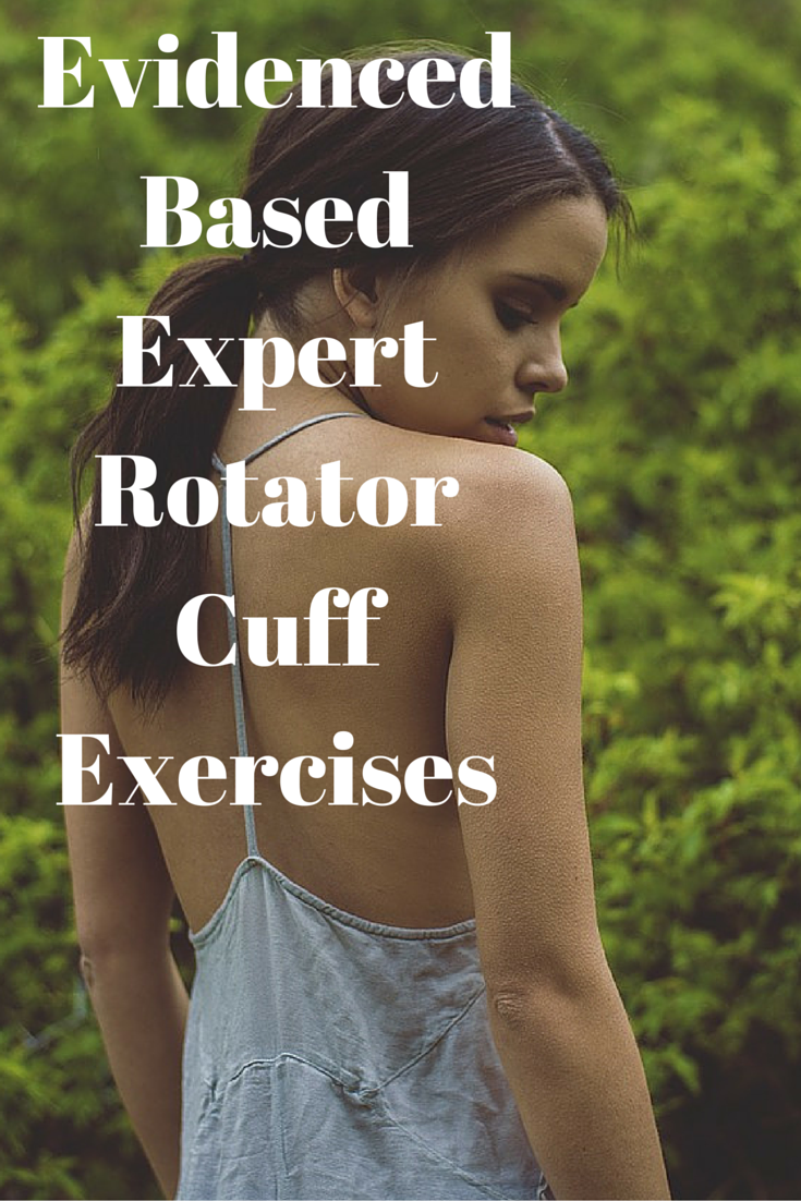 Evidenced Based Expert Rotator Cuff Exercises