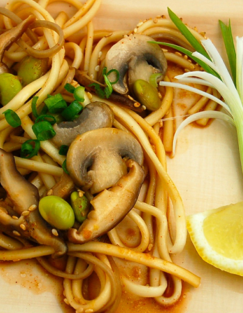 Lemon Ginger Noodles Pinterest