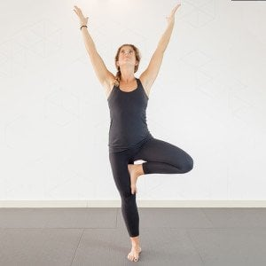 effective at home yoga routine strength balance