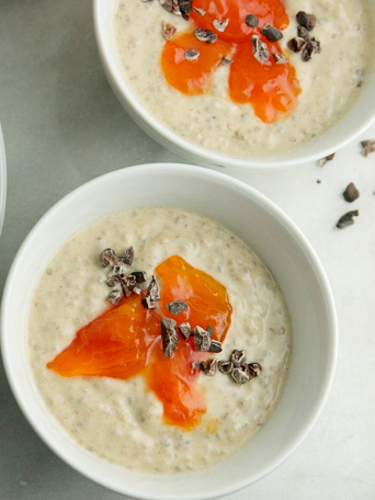 Vanilla Chia Pudding pinterest