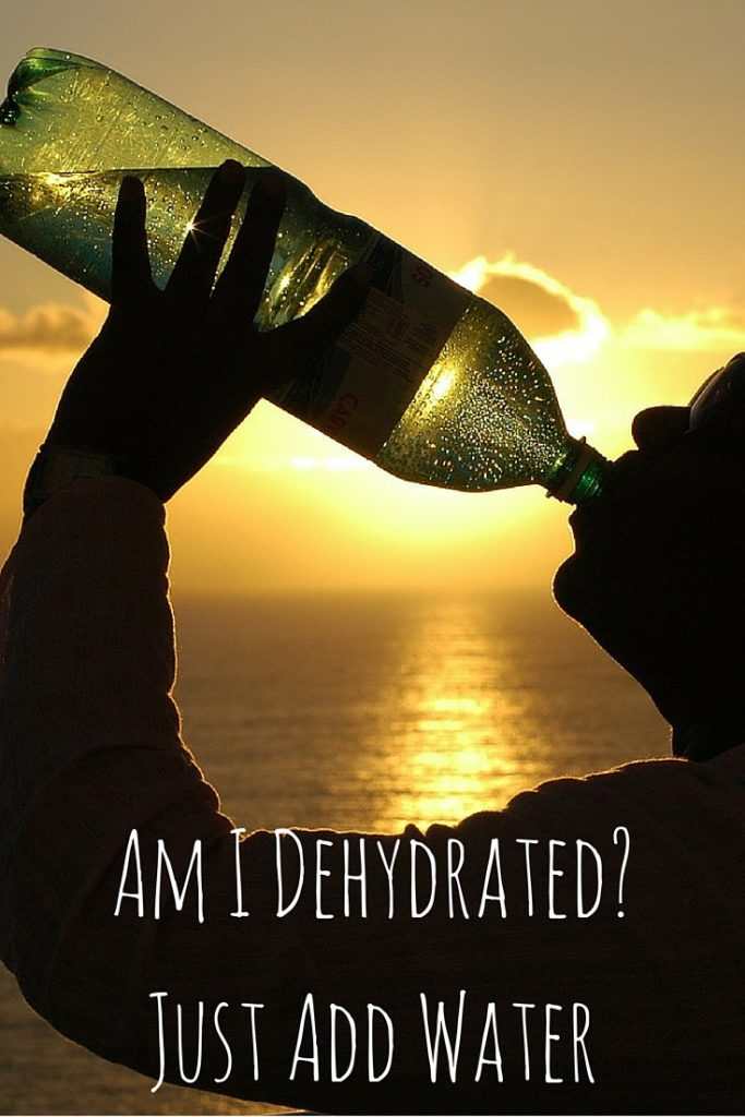 Am I Dehydrated- Just Add Water