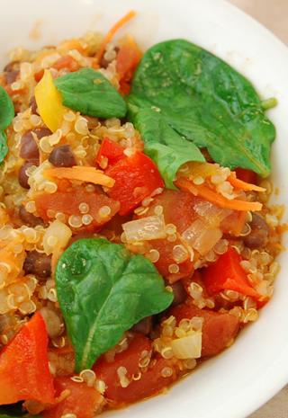 Quinoa with Vegetables 2